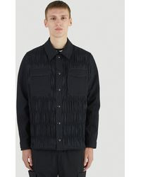 Li-ning Pleated Overshirt Jacket - Black