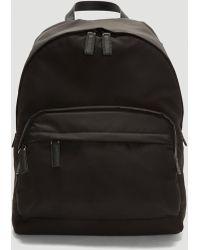 Prada The Nylon Backpack In Black
