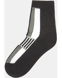 Issey Miyake - Colour Block Socks In White - Lyst