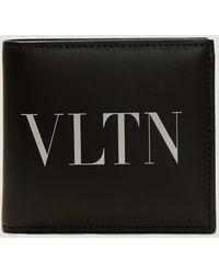 Valentino Black Valentino Garavani Vltn Wallet