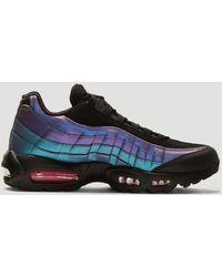 Nike Air Max 95 Premium Sneakers In Blue