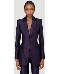 Alexander McQueen - Female Purple 100% Silk. Dry Clean. - Lyst