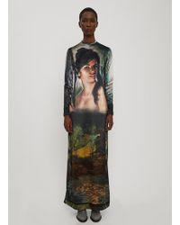 Stella McCartney - Printed Longsleeved Dress - Lyst