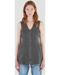 Our Legacy Female Grey 100% Cotton. Dry Clean.