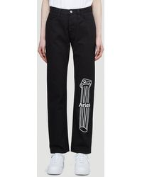 Aries Column Lily Jeans - Black