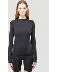 Y-3 Classic Seamless Knit Long-sleeved Top - Black