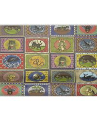Gucci Tiger Cards Wallpaper In Multicolour
