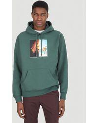 Pleasures Republic Premium Hooded Sweatshirt - Green