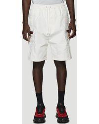 Gucci Web Trim Shorts In White