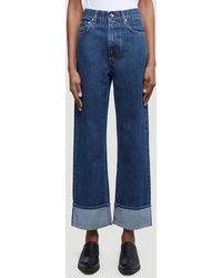 Helmut Lang High-rise Wide-leg Jeans - Blue