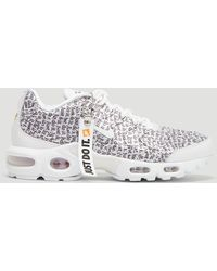 timeless design 6f970 37c90 Just Do It Tn Air Max Plus Se Trainers In White