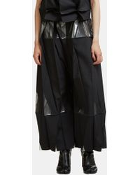 132 5. Issey Miyake - Standard 1 Origami High-waisted Trousers In Black - Lyst