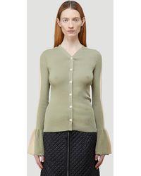 2 Moncler 1952 Female Green 82% Cotton, 18% Nylon. Dry Clean. - Multicolour