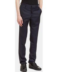 Aiezen Male Navy 100% Virgin Wool. Dry Clean Only - Blue
