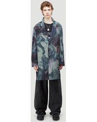 Yohji Yamamoto Male Blue 100% Textile. Dry Clean.