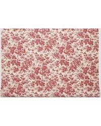 Gucci Herbarium Wallpaper In Red