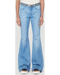 Stella McCartney Flared Jeans - Blue