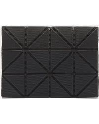 Bao Bao Issey Miyake - Lucent Cross-hatched Card Case In Black - Lyst