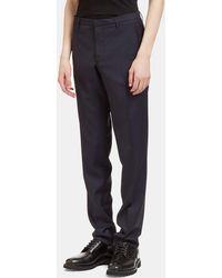 Aiezen Men's I Slim Leg Tailored Pants - Blue