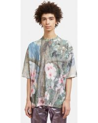Anntian - Big Floral T-shirt In Multi - Lyst