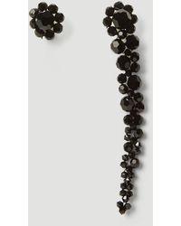 Simone Rocha Mini Drip Mismatched Earrings - Multicolour