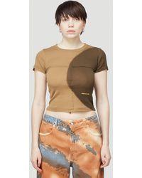 Eckhaus Latta Female Brown 100% Cotton. Dry Clean. - Multicolour
