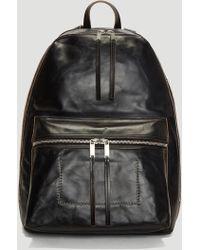 Rick Owens - Sisyphus Backpack In Black - Lyst