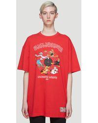 Vetements - Printed Oversize T-shirt - Lyst