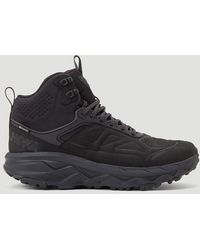 Hoka One One Male Black 67% Leather, 22% Textile, 11% Synthetic. 100 Rubber.