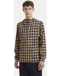 Missoni - Checked Knit Hooded Jumper In Yellow - Lyst