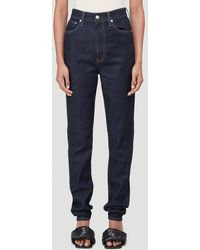 Helmut Lang Femme Hi Spikes Straight-leg Jeans - Blue
