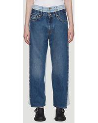 Maison Margiela - Vintage Wash Jeans - Lyst