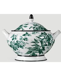 Gucci Herbarium Soup Tureen In Green