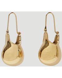 JW Anderson Jug Earrings In Gold - Metallic