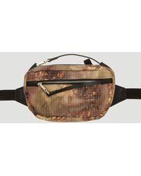 1017 ALYX 9SM - Camouflage Print Belt Bag In Brown - Lyst
