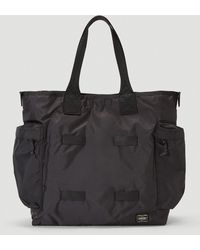 Porter 2way Tote Bag - Black