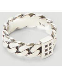 Tom Wood Spinel Ring - Metallic