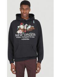Pleasures Power Premium Hooded Sweatshirt - Black