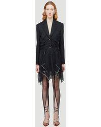 Y. Project Handkerchief Blazer - Black