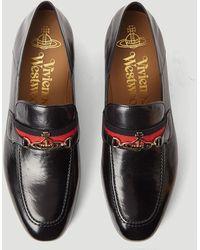 Vivienne Westwood Orb Loafers - Black