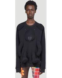 Walter Van Beirendonck Bear Sweatshirt - Black
