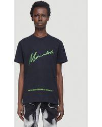 Mowalola No Morals T-shirt - Black