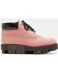 Acne Studios - Tinne Bubble Ankle Boots In Pink - Lyst