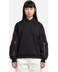 GmbH - Hooded Marlon Sweatshirt In Black - Lyst