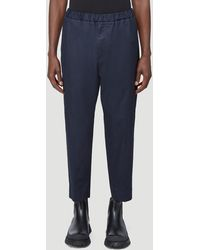 Jil Sander Straight Leg Pants - Blue