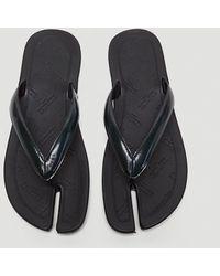 Maison Margiela - Male Black 100% Leather. - Lyst
