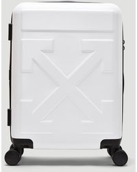 Off-White c/o Virgil Abloh Arrow Trolley Carry-on Suitcase - Grey