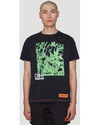 Heron Preston Skull Print T-shirt - Black