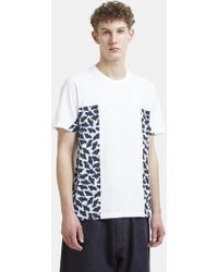 Marni - Geometric Print T-shirt In White - Lyst