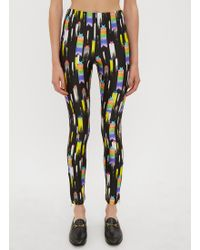 Gucci - Shooting Stars Jersey Leggings In Black - Lyst